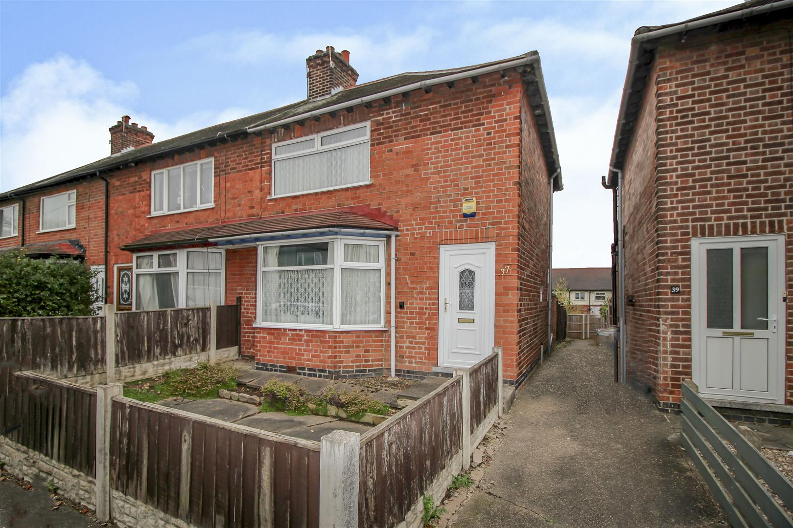 2 Bedrooms End Of Terrace House for sale in Barrydale Avenue, Beeston, Nottingham
